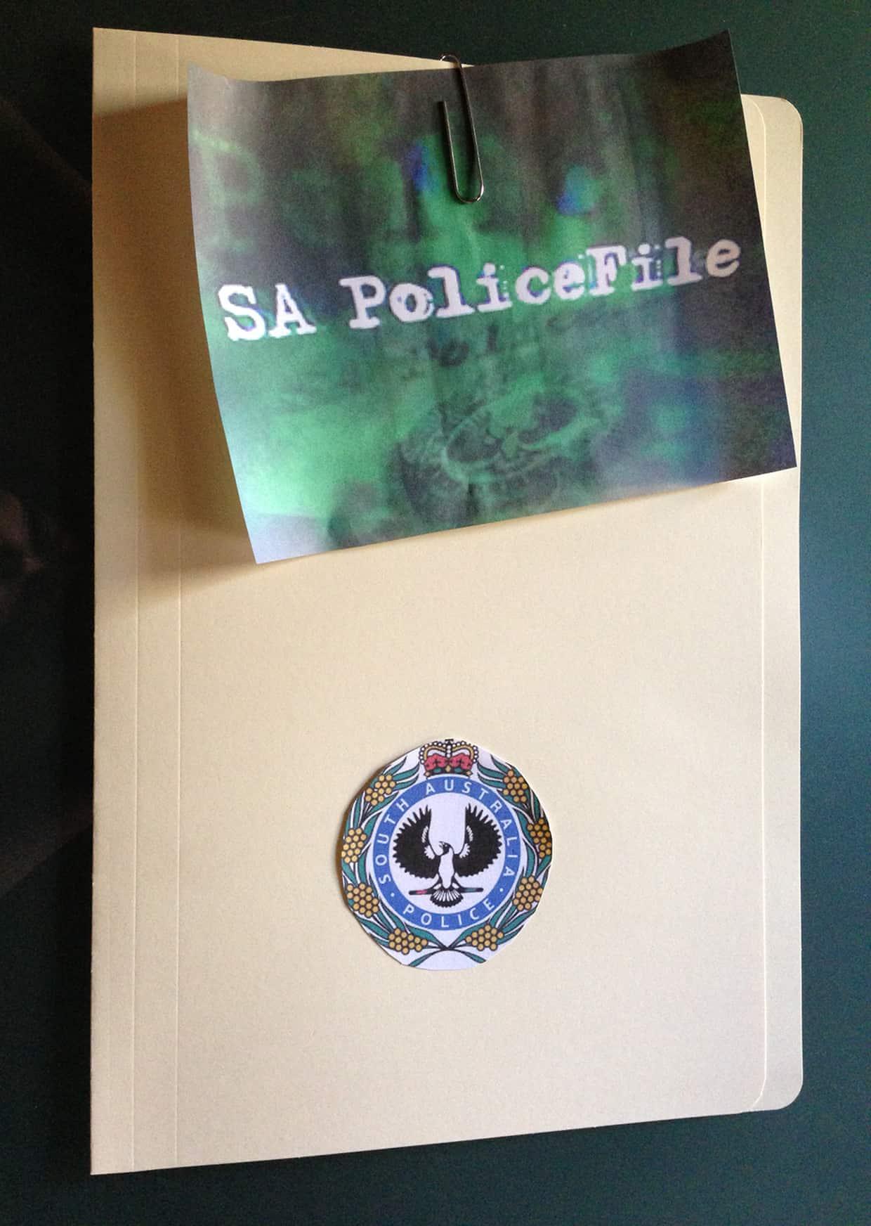 SA Policefile Poster